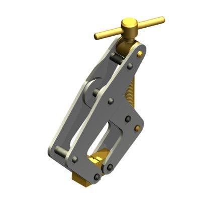 3d model clamp kant-twist