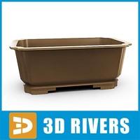 Bonsai planter  03 by 3DRivers