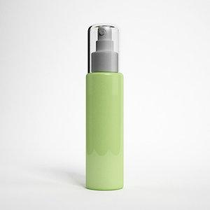 3d model cosme cosmetic bottle