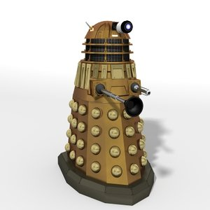 doctor dalek new series 3d model