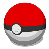 3d pokeball catch pokemon model