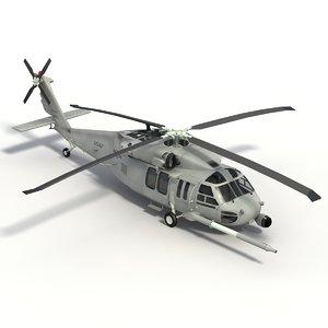 pave pavehawk 3d model