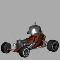 3d model red baron
