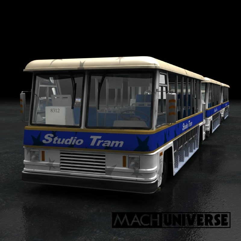 lightwave studio tram