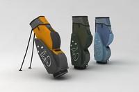 3d model golf pack