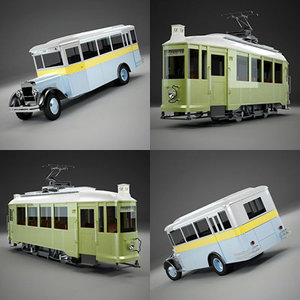 max old tram city bus