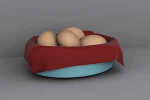 3d basket rolls