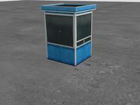watch box 3d model