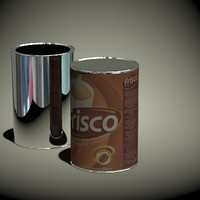 frisco coffee 750g 3d model
