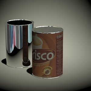 frisco coffee 750g 3d model