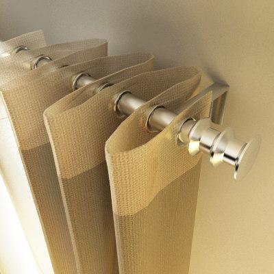 designer curtain 3d model