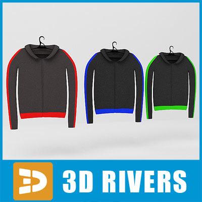 3ds max sweatshirts set clothes