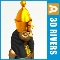 god horus 3d 3ds