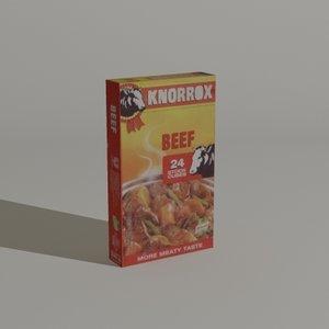 knorrox beef 24 3d x