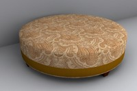3d model ottoman