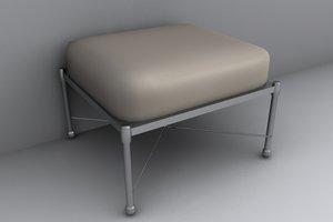 3d lwo stool