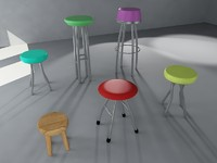Pack of 13 Bar Stools [Pack 01]