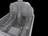 3ds max cockpit