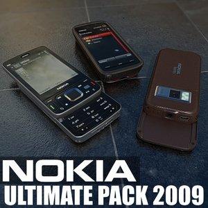 nokia ultimate 2009 3d model