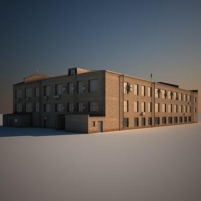 houses building 3d model