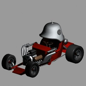 red baron hot rod 3ds