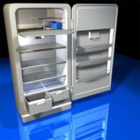 Refrigerator Retro 01