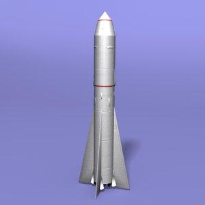 3d 3ds rocket