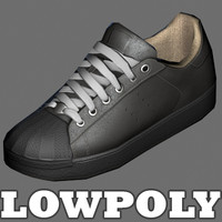 Sports shoes - low poly model