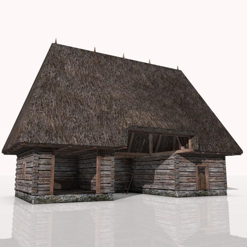 maya rustic barn xvi century