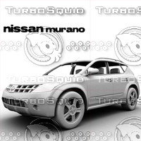 nissan murano 3d max
