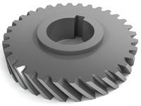 helical gears 3d model