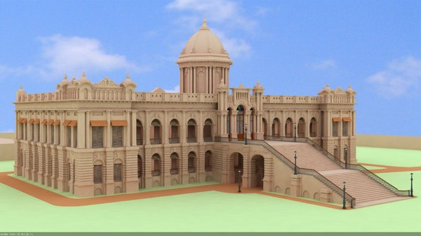 dhaka bangladesh 3d model