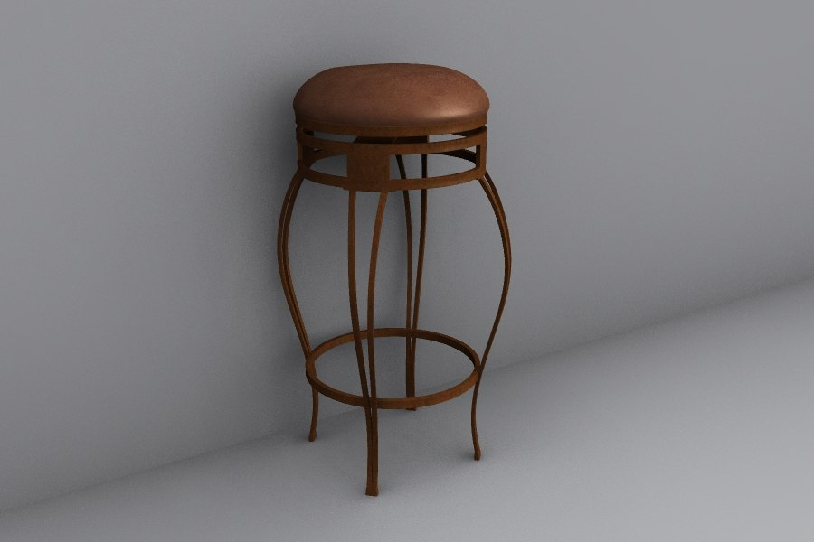 Cool Bar Stool Without Back Rest D Obj Evergreenethics Interior Chair Design Evergreenethicsorg
