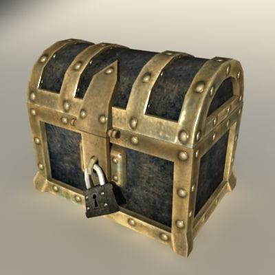 3dsmax treasure chest