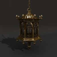 c4d gothic latern