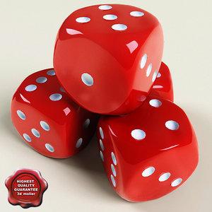 dice modelled check 3d c4d