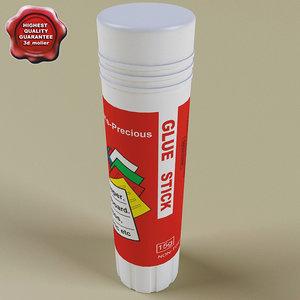 glue v2 3d model