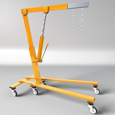cinema4d engine hoist