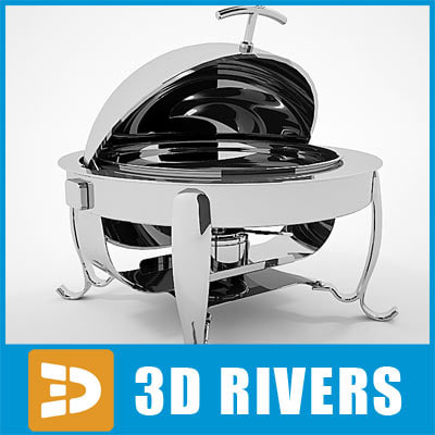 3d chafing dish