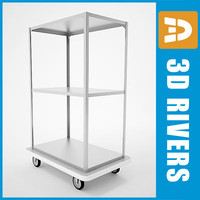 Linen cart 01 by 3DRivers