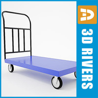 Luggage cart 05 by 3DRivers