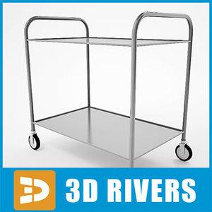 3d service cart