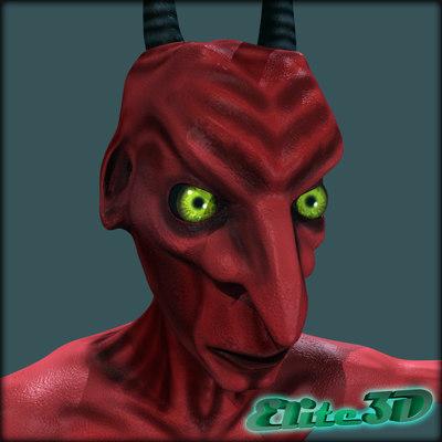 3d mapped devil