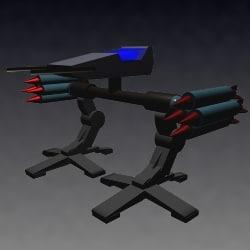 free mech warrior 3d model