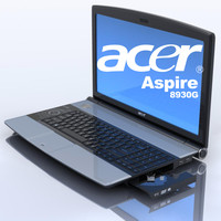 notebook acer aspire 8930g 3d max