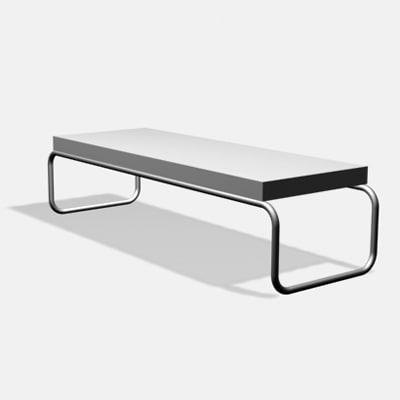 White Coffee Table Ikea Svansbo Model