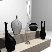 obj interior decor vases