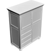 3d model cabinet closet dresser