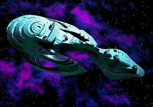 alien ship 3d 3ds