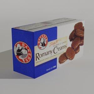 romany creams classic 3d model